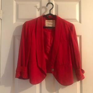 Cartonnier red blazer
